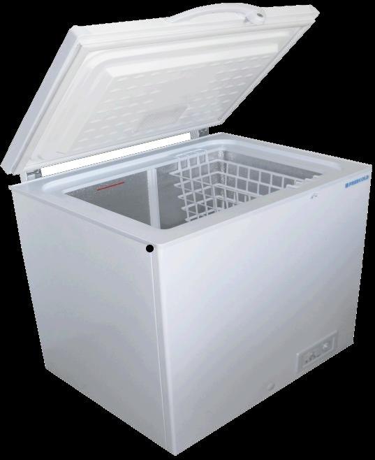 Le congélateur solaire auquel sera ajouté un bidon contenant le produit qui