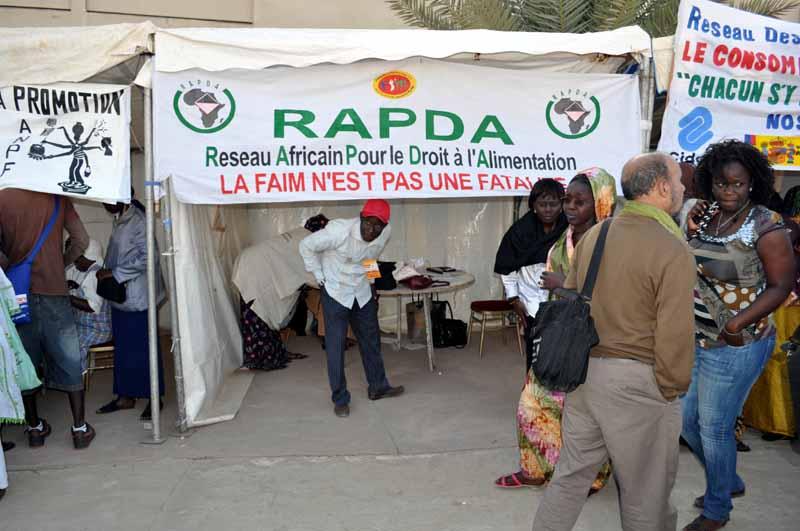 De nombreux  réseaux étaient présents à Dakar