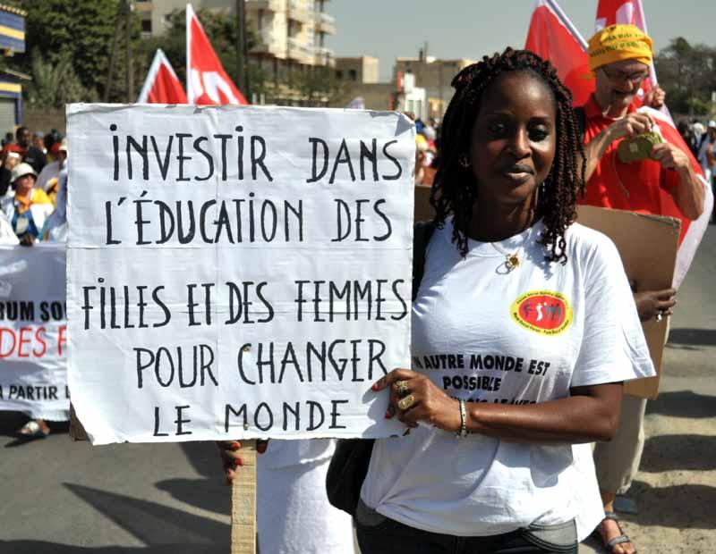 Investir dans la formation des femmes et des filles pour changer le monde !